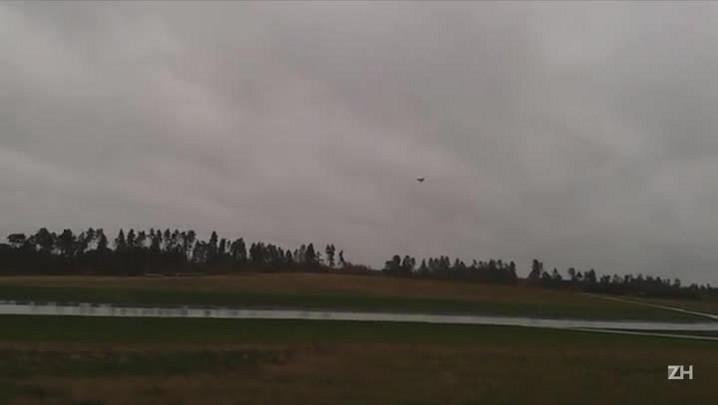 Vídeo mostra voo da versão atual do caça Gripen