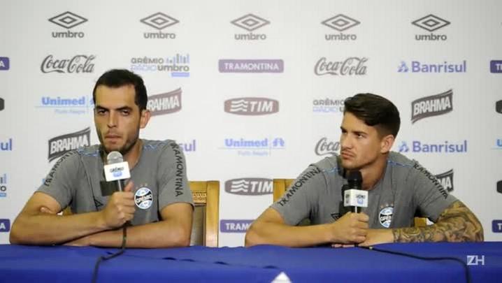 Everaldo e Rhodolfo falam dos treinos e projetam 2015