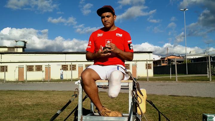 Jackson é um dos 70 paratletas que disputarão os Jogos Abertos de Atletismo Paralímpico