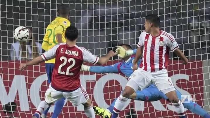 Brasil é eliminado pelo Paraguai