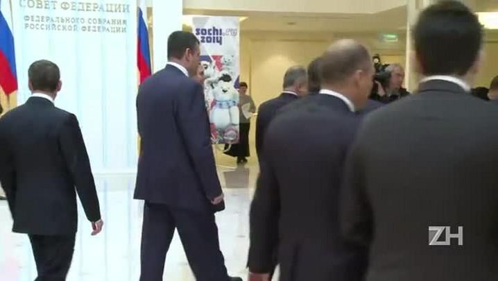 Senado russo autoriza Putin a usar a força militar no exterior