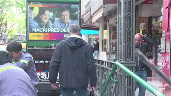 Argentinos votam para presidente