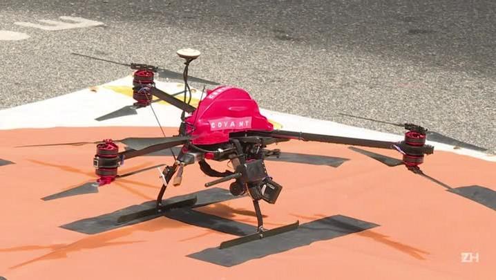 Drone é a arma dos bombeiros contra o vírus Zika