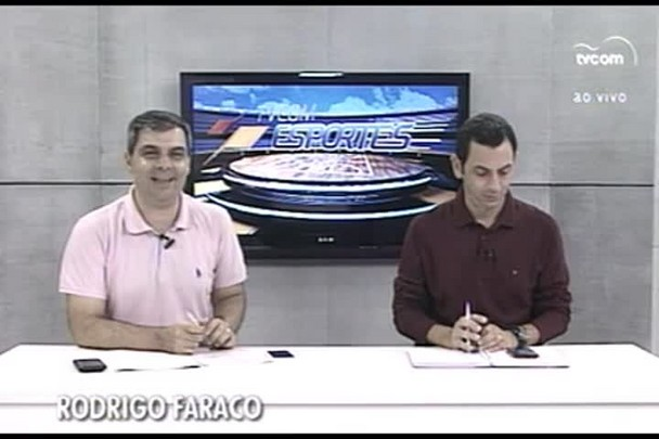 TVCOM Esportes. 1º Bloco. 25.03.16