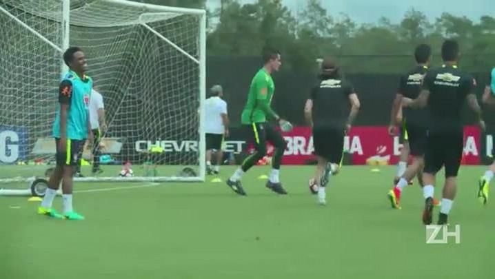 Brasil mantém equipe contra Haiti