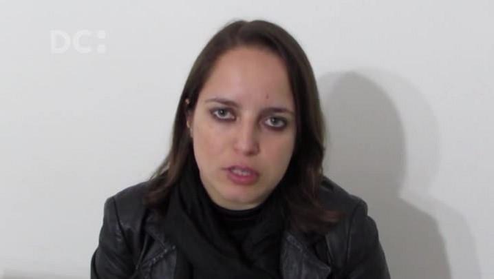Conduzir a tocha é uma aventura para a jornalista Tatiana Dornelles