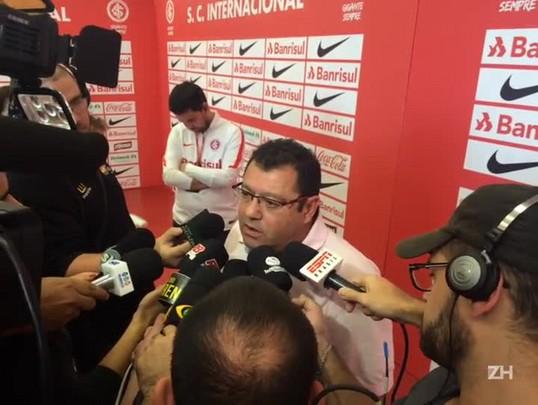 """Pellegrini fala sobre reação após derrota no Gre-Nal: \""""Avaliação a partir de segunda\"""""""