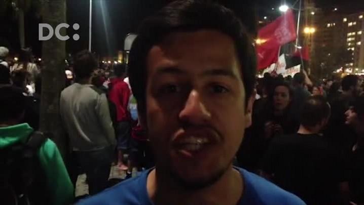 Presidente da UCE fala do objetivo da manifestação contra Temer em Florianópolis