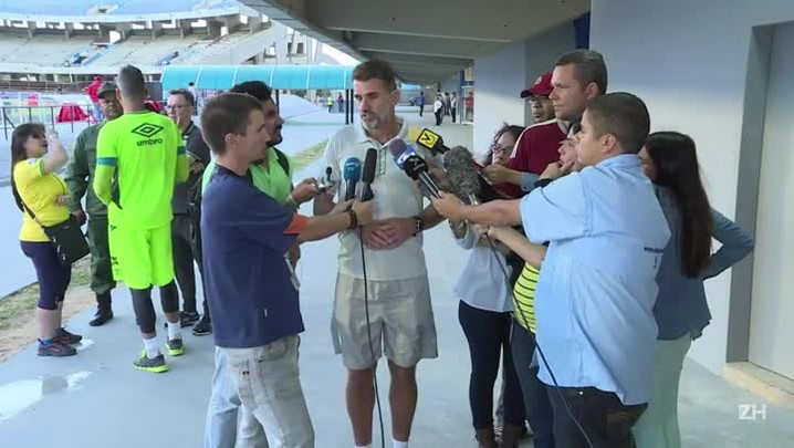 Chape se prepara para estreia na Libertadores