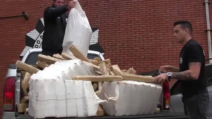 Polícia Civil apreende cerca de 1 tonelada de maconha em Eldorado do Sul