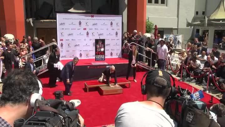 Lenda da Marvel deixa marcas em Hollywood