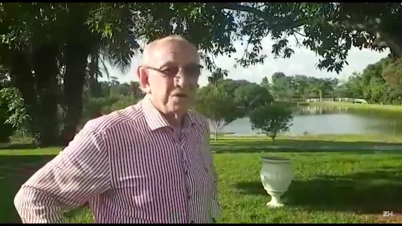 Pai de Rogério Ceni sonha ver filho treinando o Inter