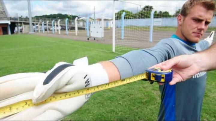 Conheça Gott, do Novo Hamburgo, o maior goleiro do Campeonato Gaúcho