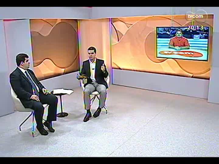 TVCOM 20 Horas - 17/01/2013 - Bloco 2 - Assalto à joalheria Coliseu, no shopping Praia de Belas