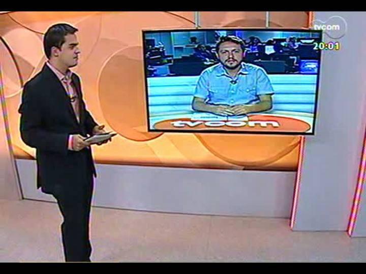 TVCOM 20 Horas - 21/01/2013 - Bloco 1 - Obras para a Copa do Mundo