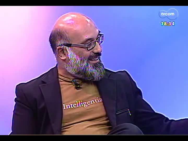 Programa do Roger - Diretora Patrícia Fagundes e ator Heinz Lima Verde falam sobre espetáculo Natalício Cavalo - bloco 3 - 13/03/2013
