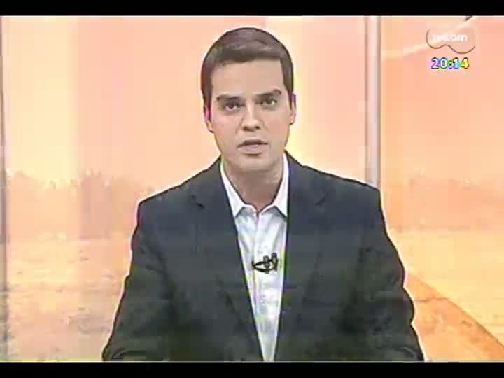 TVCOM 20 Horas - Ministro anuncia estudos para novo aeroporto no Estado - Bloco 2 - 23/04/2013