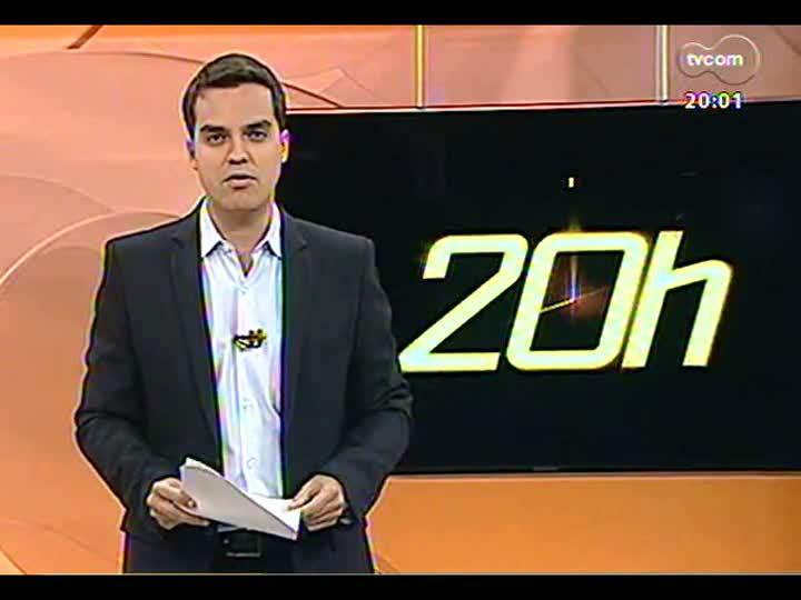 TVCOM 20 Horas - Geral do Grêmio na Arena é liberada sem cadeiras - Bloco 1 - 25/04/2013