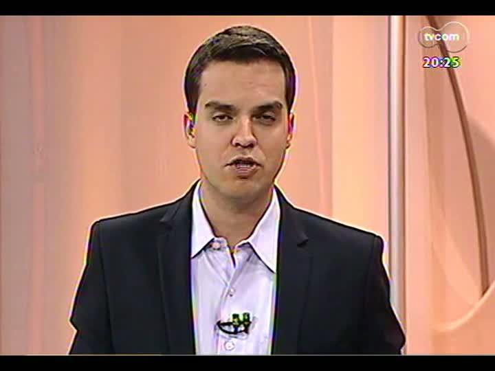 TVCOM 20 Horas - Obra de trânsito de Porto Alegre nas mãos da Justiça - Bloco 3 - 26/04/2013