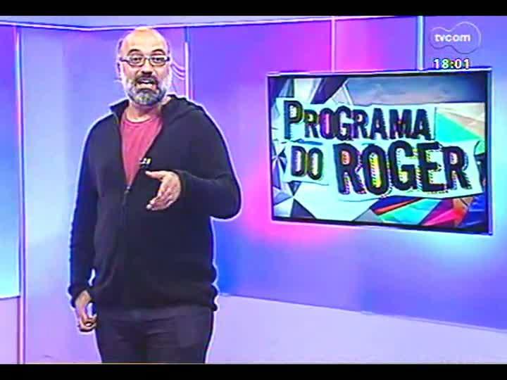 Programa do Roger - Confira a participação da banda Bleff - bloco 2 - 01/05/2013