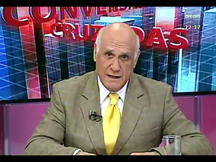 Conversas Cruzadas - Debate a decisão de permitir apenas a torcida do Grêmio no clássico de domingo, na Arena - Bloco 2 - 30/07/2013