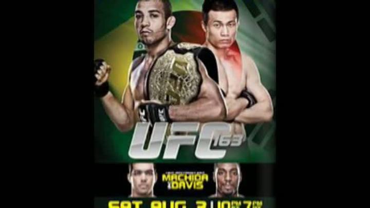 No Mundo das Lutas: José Aldo e Lyoto Machida neste sábado no UFC 163