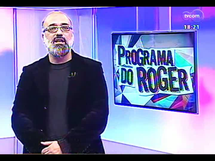 Programa do Roger - Gaiteiro Paulinho Cardoso fala sobre disco \'Festa\' - bloco 4 - 05/08/2013