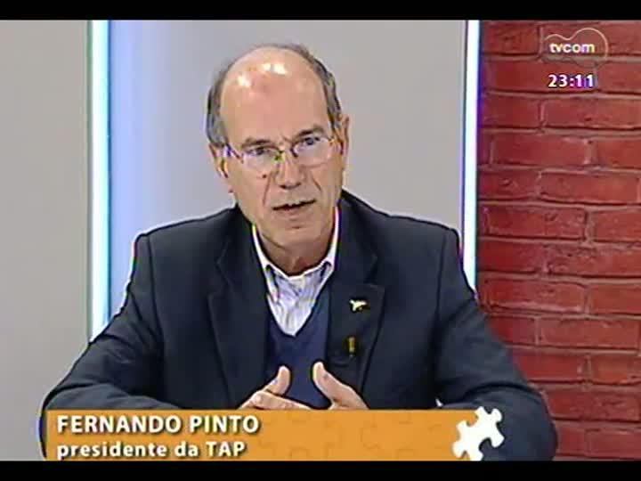 Mãos e Mentes - Presidente da companhia aérea TAP, Fernando Pinto - Bloco 2 - 01/09/2013