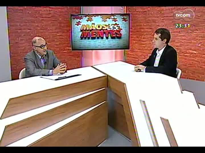 Mãos e Mentes - Presidente do Sindicato de Hotéis de Porto Alegre, Daniel Antoniolli - Bloco 2 - 04/09/2013