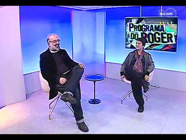 Programa do Roger - Bailarina e coreógrafa Ana Medeiros fala sobre o curso \'A pesquisa do movimento\' - bloco 2 - 24/09/2013