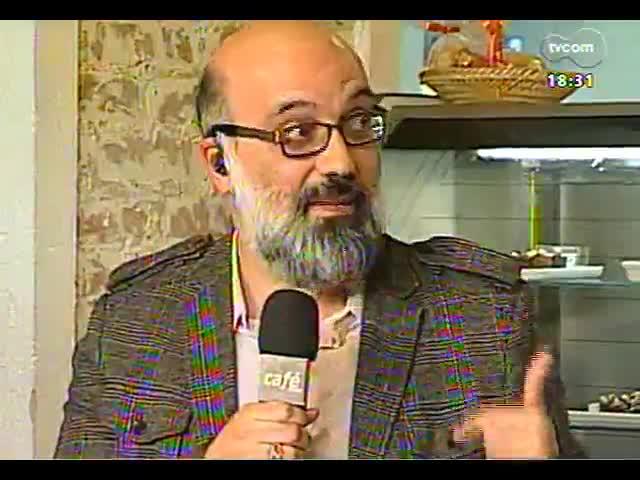 Café TVCOM - Um bate papo com a colunista de Zero Hora Carol Bensimon direto da Spritzeria Pane & Spritz - Bloco 3 - 19/10/2013