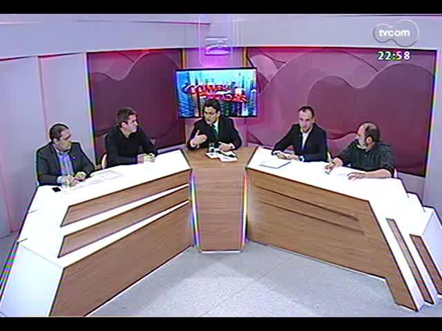 Conversas Cruzadas - Debate sobre o projeto de emenda à Constituição que proíbe a divulgação de pesquisas eleitorais 15 dias antes do pleito - Bloco 3 - 29/10/2013