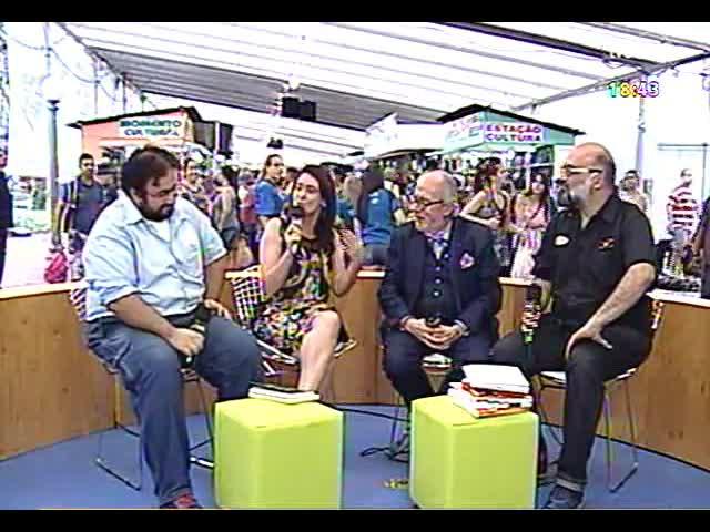 Café TVCOM - Bate-papo cultural direto da 59ª Feira do Livro - Bloco 4 - 09/11/2013
