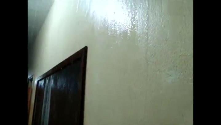 Infiltrações continuam na Escola Municipal Quintino Bocaiúva