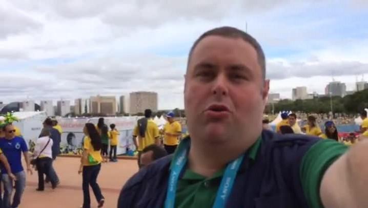 Gigante da Copa: torcedores mandam seu palpite para jogo do Brasil