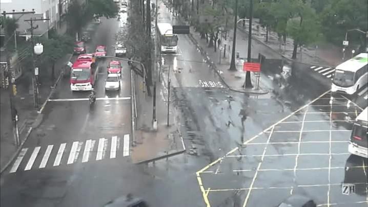 Infrações de trânsito: avançar sinal vermelho