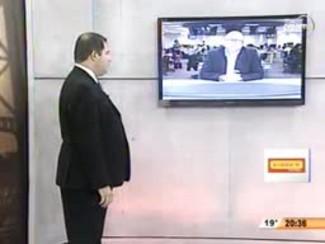 TVCOM 20 Horas - Governo Rompe Contrato com Construtora da Ponte Hercílio Luz - 3ºBloco - 19.08.14