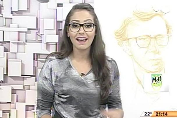 TVCOM Tudo+ - Artista plástico faz caricaturas com pó de café - 18.12.14