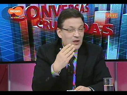 Conversas Cruzadas - Debate sobre o fim da pasta específica para os interesses das mulheres pelo governo do estado - Bloco 4 - 23/12/2014