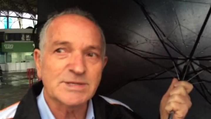 Usuário do Terminal Triângulo, Carlos Machado, 67 anos, opina sobre o caso