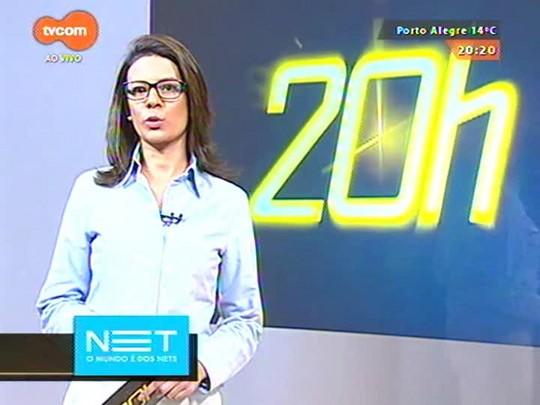 TVCOM 20 Horas - Novos flagrantes registrados por câmeras de coletivos mostram ação de criminosos na capital - 01/06/2015
