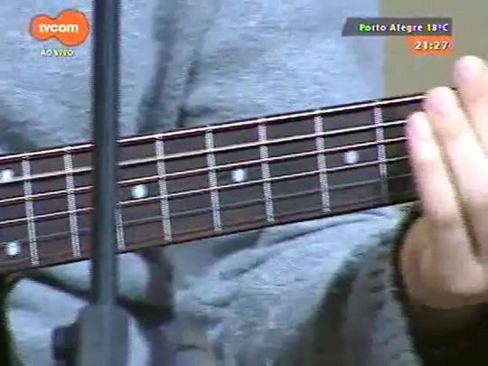TVCOM Tudo Mais - Thiago Ramil faz show de lançamento do álbum de estreia no Theatro São Pedro, mas antes, tem uma prévia no Tudo+