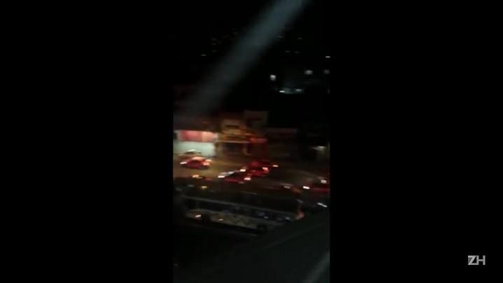 Taxistas fazem protesto na Capital