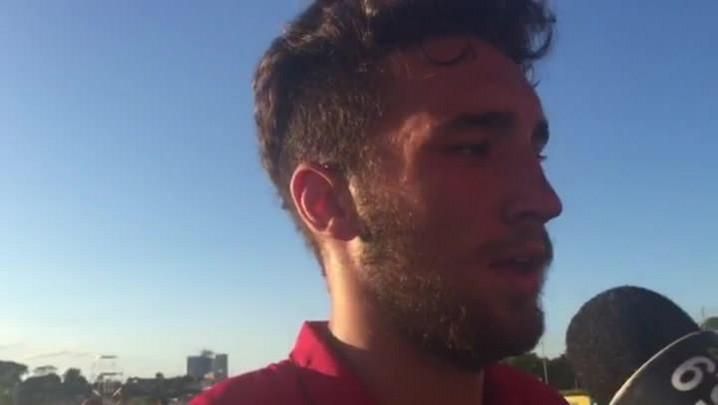 Ortiz fala sobre derrota para o Atlético-MG na Copa Sub-20