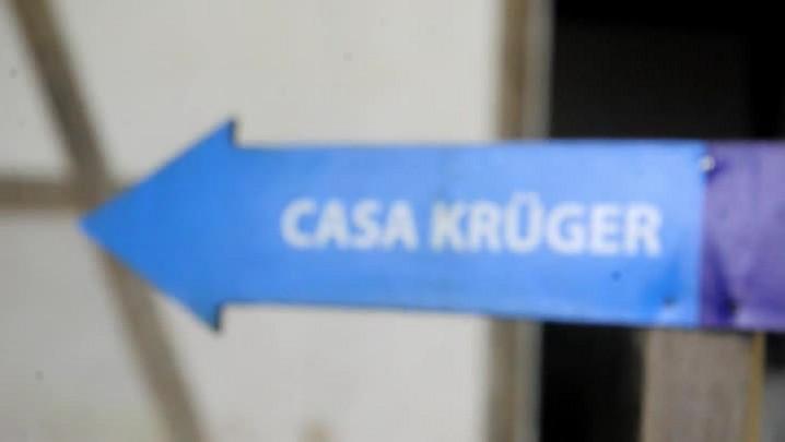 Por dentro da casa Krüguer