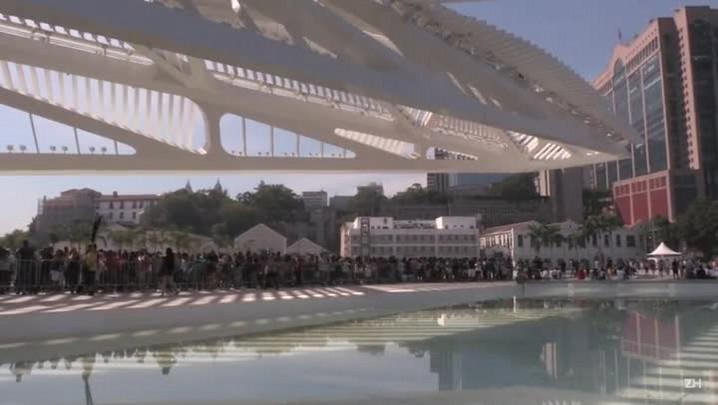Museu do Amanhã recebe multidão no primeiro final de semana