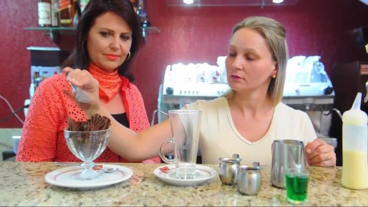 Conex�o Gourmet: aprenda a fazer um caf� mentolado