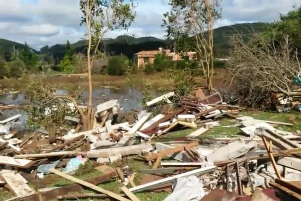 Moradora de Porto União fala da morte de vizinho