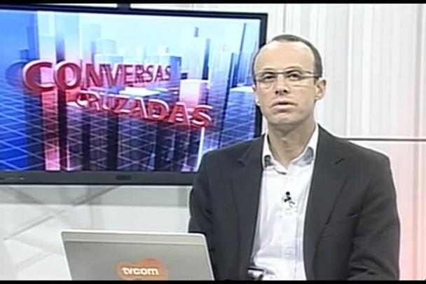 TVCOM Conversas Cruzadas. 4º Bloco. 30.06.16