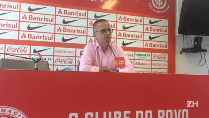 Dirigente do Inter responde sobre possível saída de Eduardo Henrique